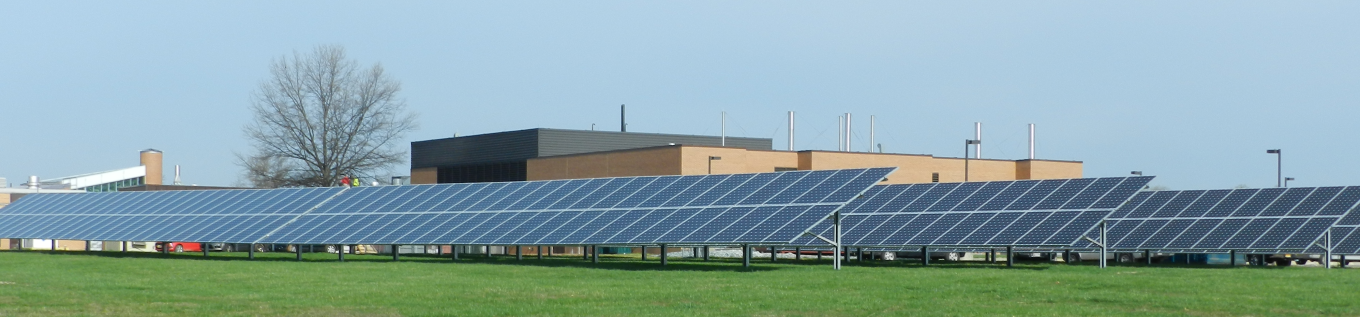 National Institues of Health (NIH) ground mounted solar system