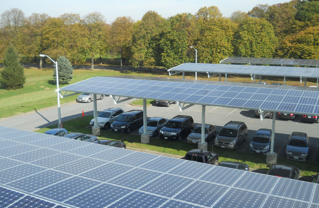 National Institute of Standrds and Technology (NIST) parking canopy solar system